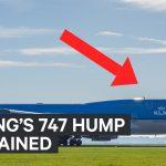 Vì sao máy bay Boeing 747 có phần bưới trên đầu